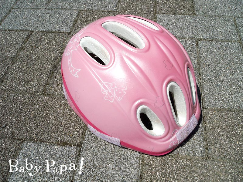ヘルメット右側