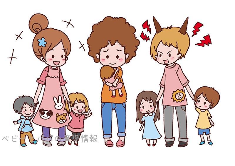 保育士さんと子供
